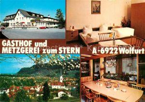 Wolfurt Gasthof Metzgerei zum Stern Gaststube Zimmer Wolfurt