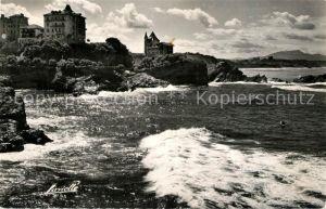 Biarritz_Pyrenees_Atlantiques Villa Belza et Hotel Chateau des Falaises Biarritz_Pyrenees