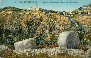 La_Turbie Ruines Romaines La Tour d Auguste La_Turbie