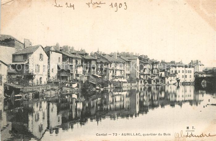 Aurillac Quartier du Buis Aurillac