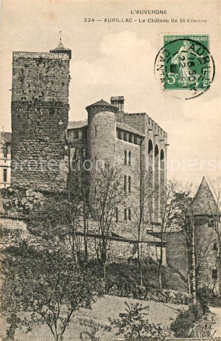 Aurillac Le Chateau de St Etienne Aurillac