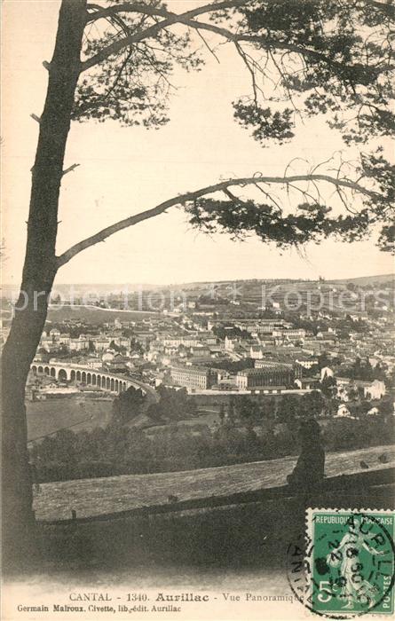 Aurillac Vue panoramique Aurillac