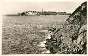 Saint Malo_Ille et Vilaine_Bretagne Vue generale prise des rochers d Aleth Saint Malo_Ille et Vilaine