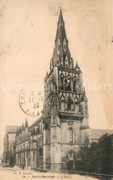 Saint Maixant_Creuse Eglise Saint Maixant Creuse