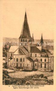 Saint Martin de Boscherville Eglise Saint Georges Saint Martin de Boscherville