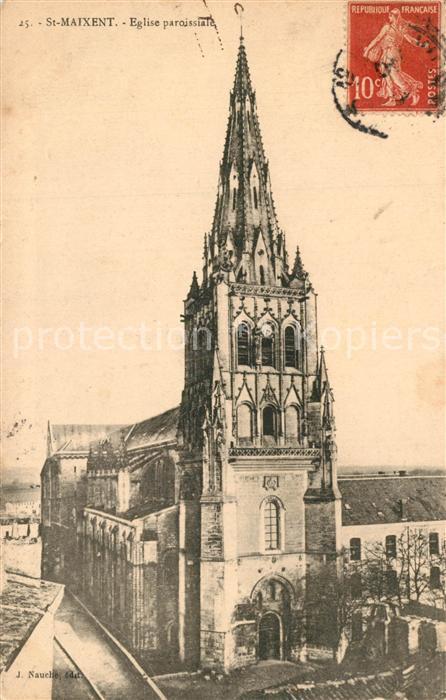 Saint Maixant_Creuse Eglise paroissiale Saint Maixant Creuse