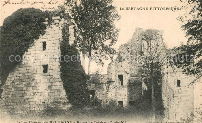 Bretagne_Indre Chateaux de Bretagne Ruines Bretagne Indre