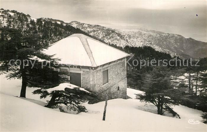 Chrea Station estivale Chalet dans la Montagne en hiver Chrea