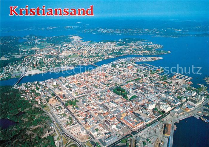 Kristiansand Fliegeraufnahme Kristiansand