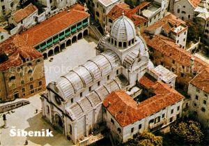 Sibenik Kathedrale Fliegeraufnahme Sibenik