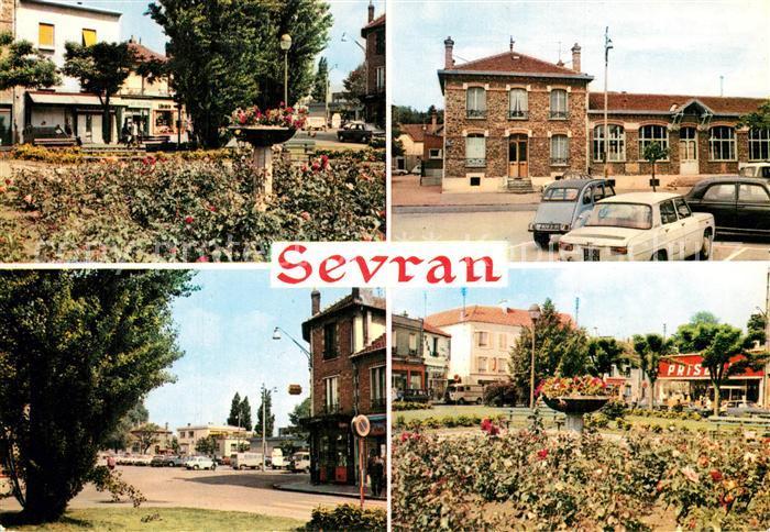 Sevran Divers aspects de la Place Auguste Cretier Sevran