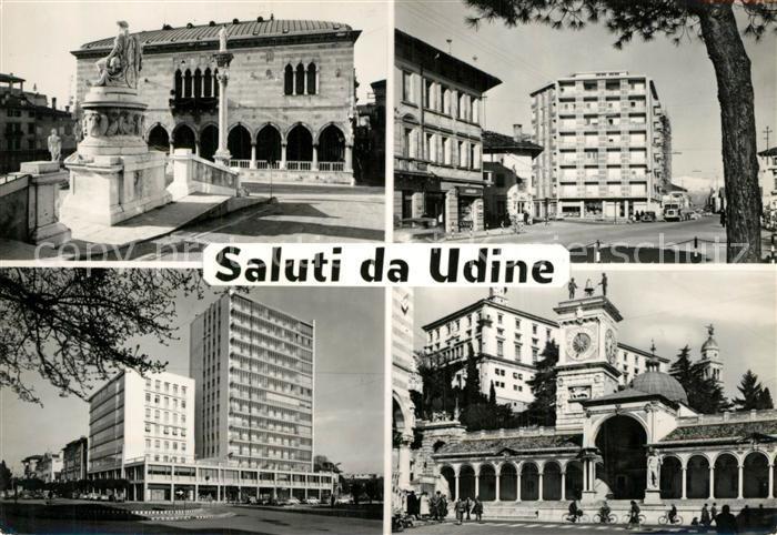 Udine Sehenswuerdigkeiten der Stadt Hochhaus Denkmal Udine