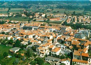 Montrejeau_Haute Garonne Vue aerienne Montrejeau Haute Garonne