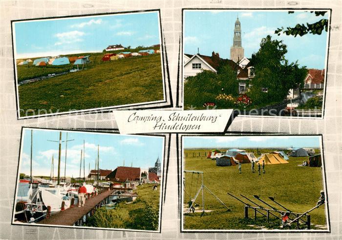 Hindeloopen Vakantiehus en Camping Schuilenburg Kirch Hafen Hindeloopen