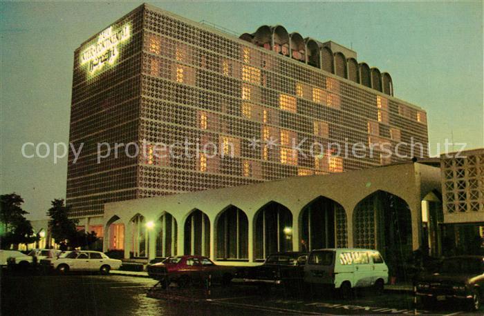 Karachi Hotel Inter Continental Nachtaufnahme Karachi