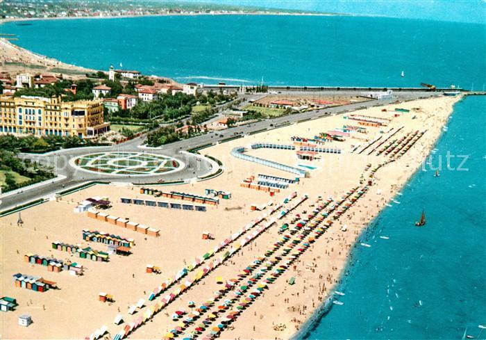 Rimini La spiaggia vista dall alto Rimini