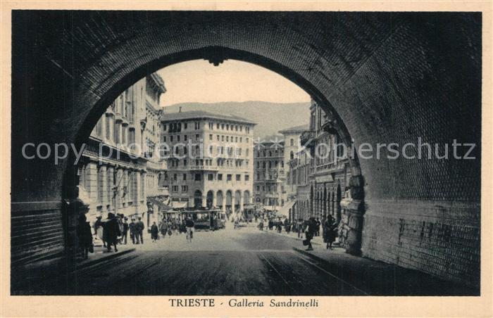 Trieste Galleria Sandrinelli Trieste