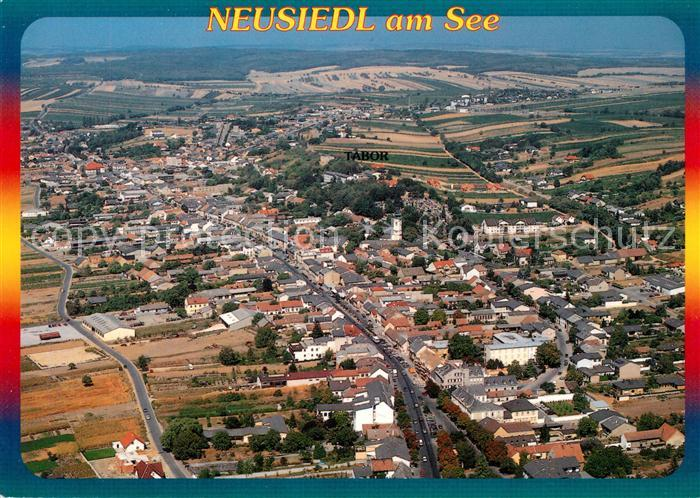 Neusiedl_See Ferienparadies am Neusiedlersee Fliegeraufnahme Neusiedl See