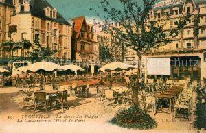 Trouville Deauville La Reine des Plages La Cancaniere et l'Hotel de Paris Trouville Deauville