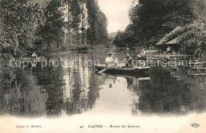 Cloyes sur le Loir Riviere des Graviers Cloyes sur le Loir