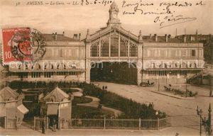Amiens La Gare Bahnhof Amiens