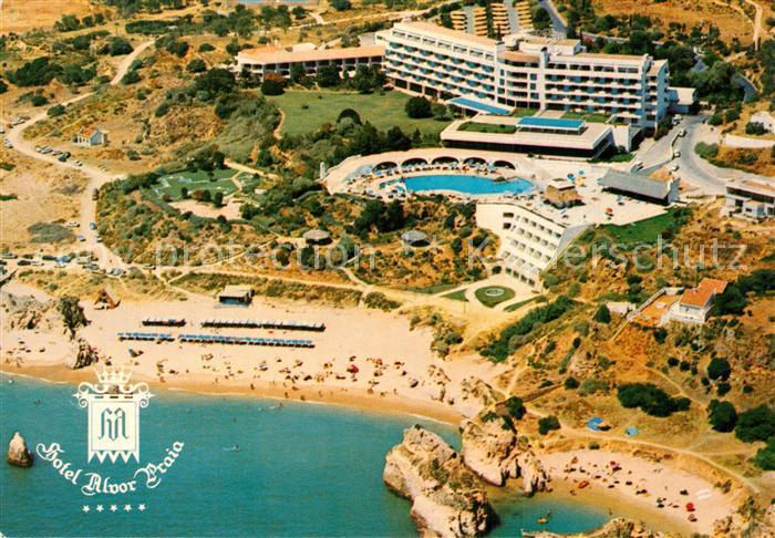 Alvor Hotel Alvor Praia aerial view Alvor