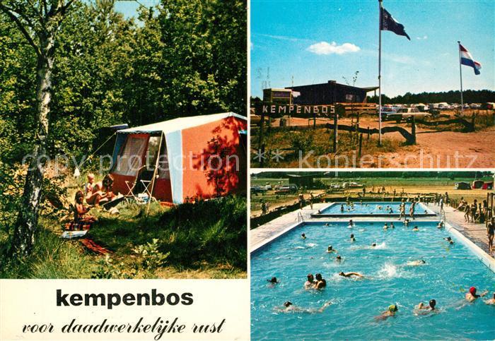 Diessen_Noord_Brabant Kempenbos Recreatie Campingplatz Freibad Diessen_Noord_Brabant