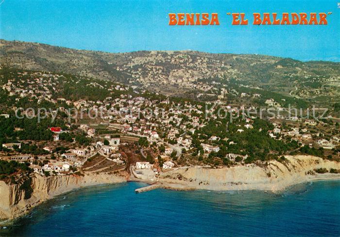 Benisa_Alicante Vista aerea del Baladrar Benisa Alicante