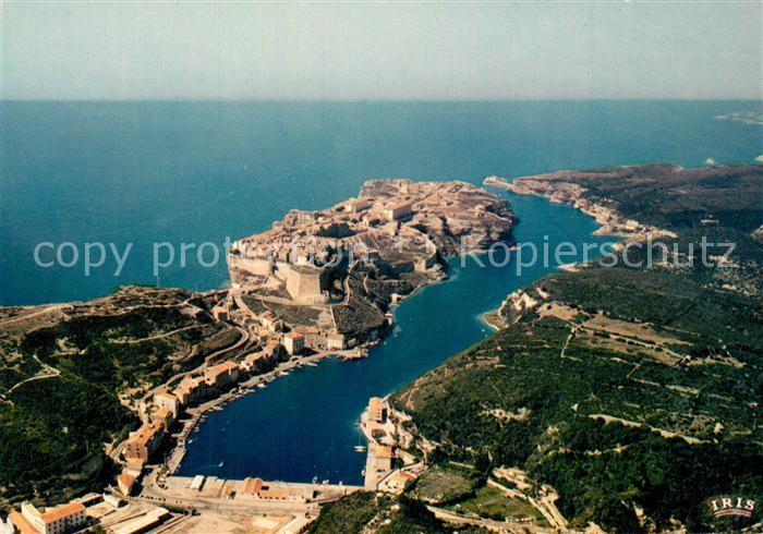 Bonifacio_Corse_du_Sud Vue aerienne Bonifacio_Corse_du_Sud