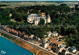 Chaumont sur Loire Chateau vue aerienne Chaumont sur Loire