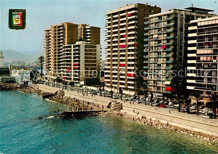 Malaga_Andalucia Paseo Maritimo y playa Malaga_Andalucia