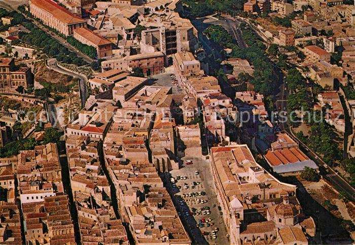 Cagliari Zona storica Il Castello veduta aerea Cagliari