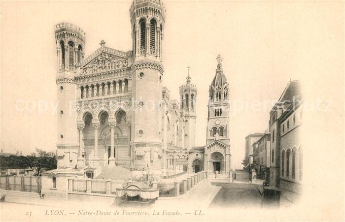 Lyon_France Notre Dame de Fourviere  Lyon France