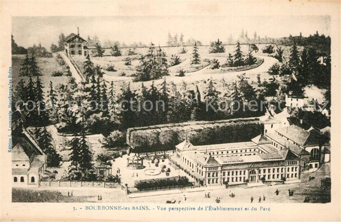 Bourbonne les Bains_Haute_Marne Etablissement et Parc Bourbonne les Bains_Haute