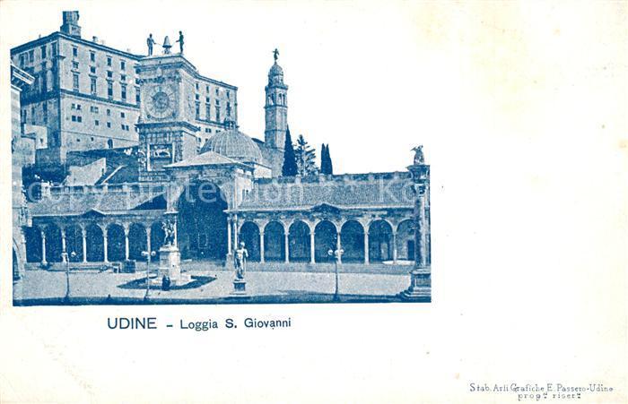 Udine Loggia S. Giovanni Udine