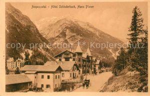 Schluderbach_Carbonin Ampezzotal Hotel Schluderbach  Schluderbach Carbonin