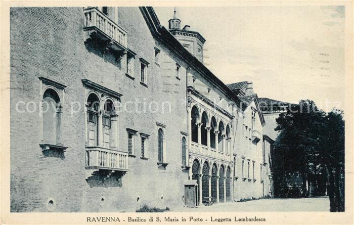 Ravenna_Italia Basilica S. Maria in Porto Loggetta Lombardesca  Ravenna Italia