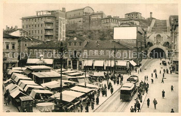 Trieste Piazza C. Goldoni  Trieste