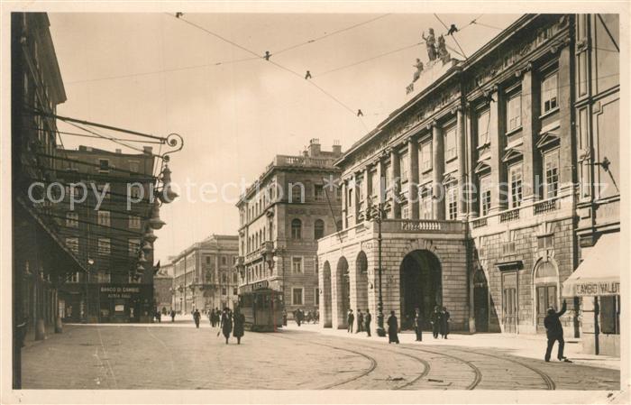 Trieste Piazza Tommaseo Teatro Verdi Trieste