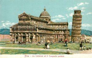 Pisa Cattedrale Campanile Pendente  Pisa