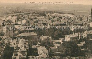 Angers Vue generale sur le Quartier Saint Laud Angers