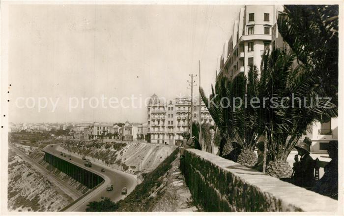 Oran_Algerie Boulevard Nord Nouvelle Route du Port Oran Algerie
