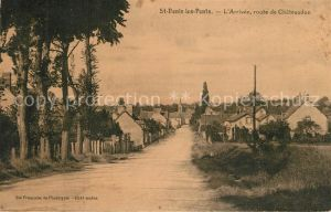 Saint Denis les Ponts Arrivee Route de Chateaudun Saint Denis les Ponts