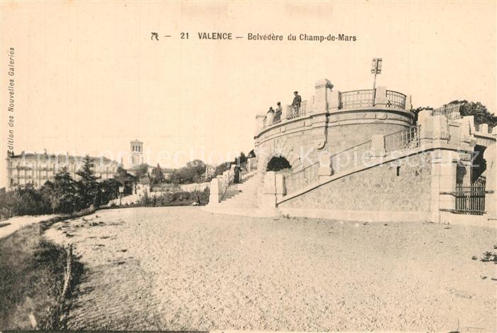Valence_d_Agen Belved?re du Champ de Mars Valence_d_Agen