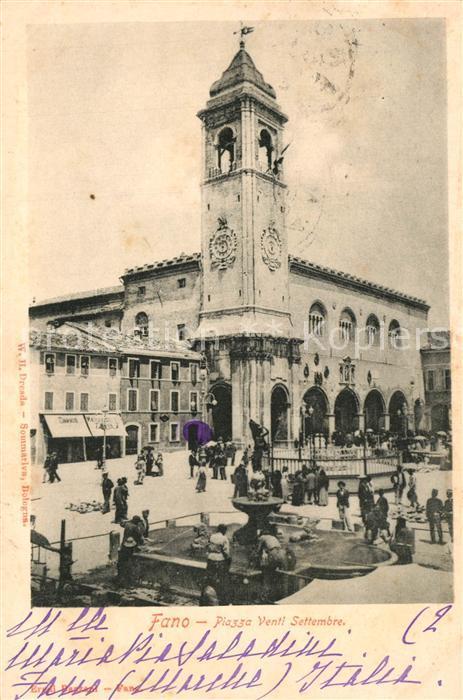 Fano_Italien Piazza Venti Settembre  Fano Italien