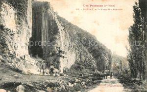Saint Beat La Carriere romaine Pyrenees Saint Beat