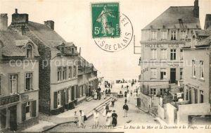 Le_Portel Rue de la Mer et la descente a la plage Le_Portel