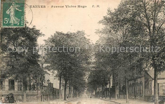 Vanves Avenue Victor Hugo Vanves