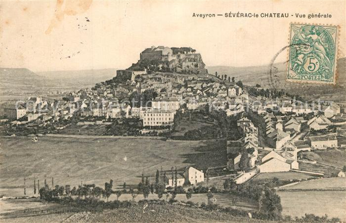 Severac le Chateau Vue generale Severac le Chateau