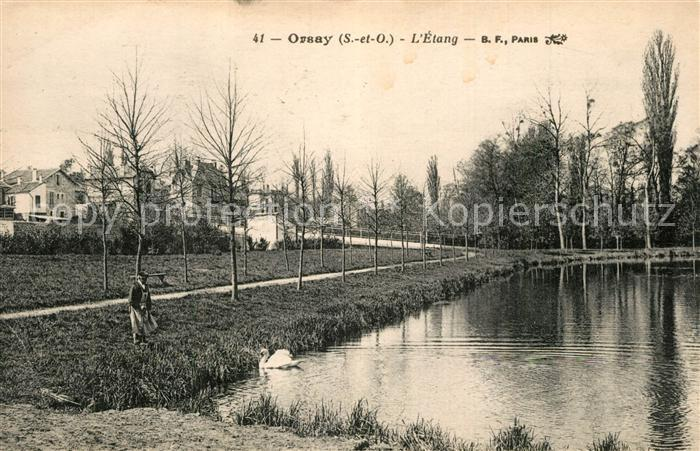 Orsay_Essonne Etang Orsay Essonne